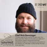 Chef Nick Benninger Fat Sparrow Group