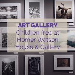 Homer Watson House & Gallery Activity Idea