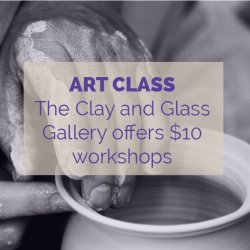 The Clay and Glass Gallery Activity Idea