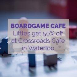 Crossroads Cafe Waterloo Boardgame Cafe Activity Idea
