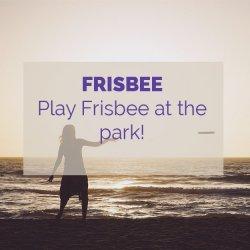 Frisbee Activity Idea