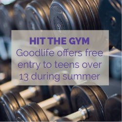 Goodlife Fitness Gym Activity Idea