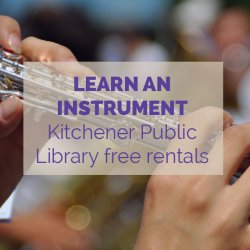 Kitchener Public Library Instrument Activity Idea