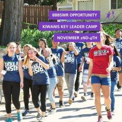 Kiwanis Key Leader Camp BBBSWR Opportunity