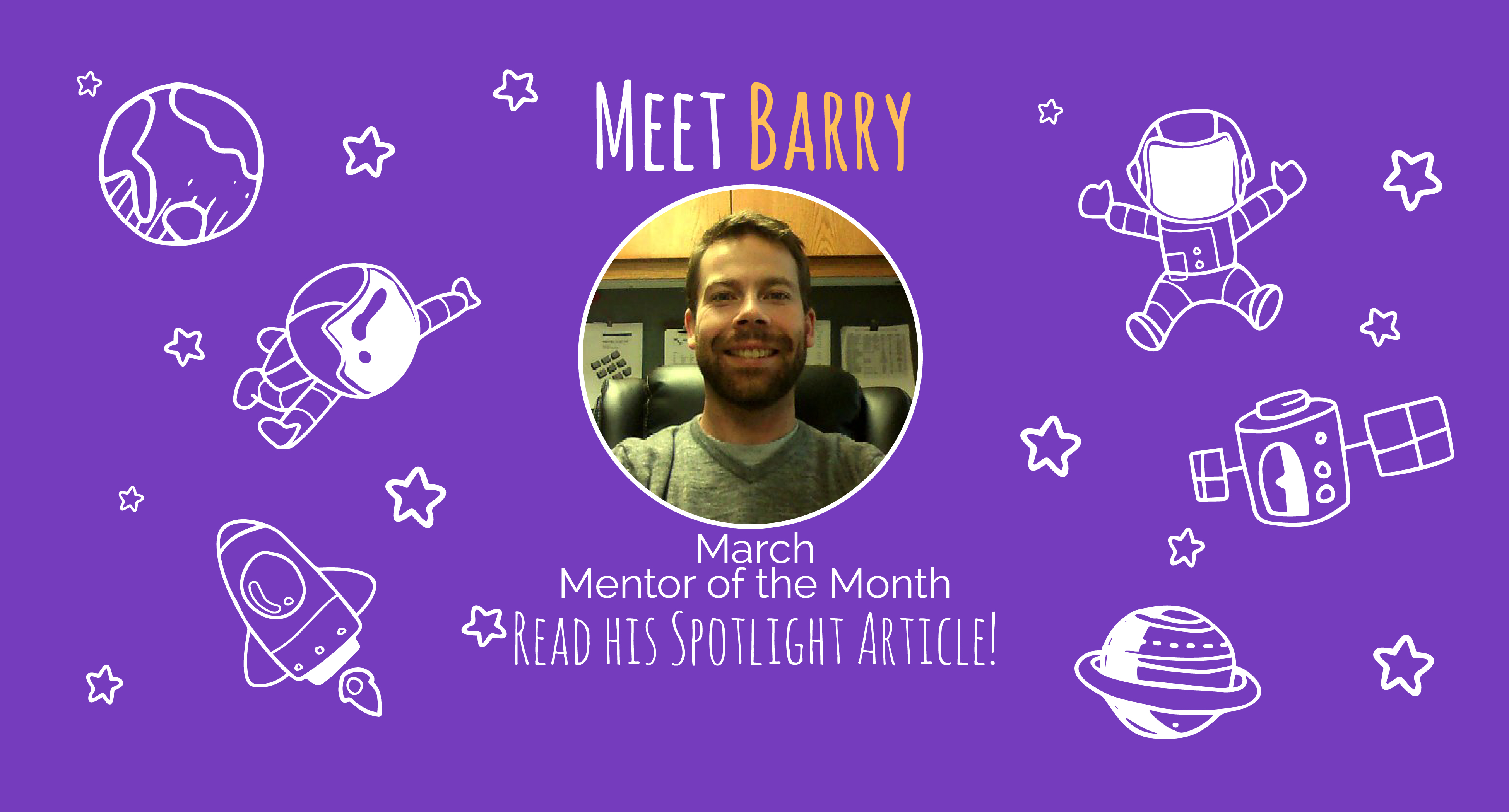 March Mentor of the Month Banner