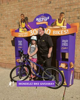 Mondelez Bike Giveaway