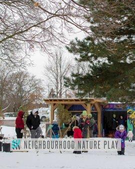 Neighbourhood Nature Play - Winter
