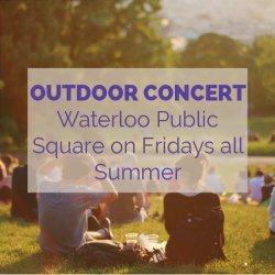 Waterloo Public Square Outdoor Concert Activity Idea