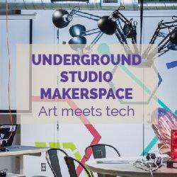 The Museum Underground Studio MakerSpace Camp