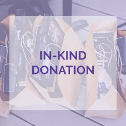 In-Kind Donation