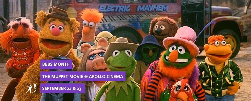 Apollo Cinema The Muppet Movie for BBBS Month