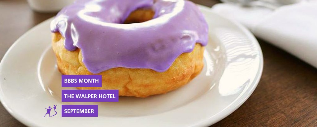 Walper Hotel Donuts for BBBS Month